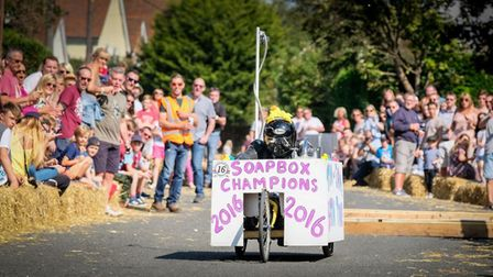 The 2017 Great Easton Soapbox Race. Picture: ORANGE STREET PHOTOGRAPHY