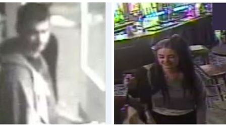CCTV images of these people have been released by police in connection with an assault in a Cambridg