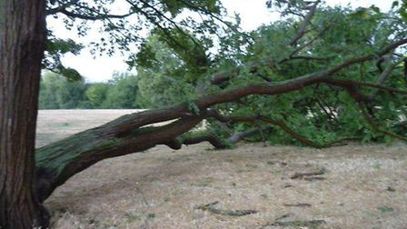 Emergency services from across Fenland have been inundated with calls after a flash storm hit the re