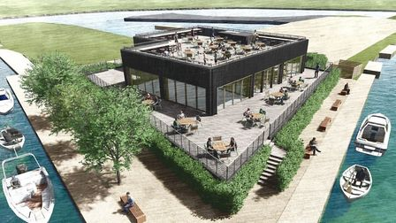 Images provided by the architect of the proposal for the Fish and Duck marina that involves the cre