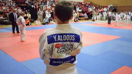 Yonas matside about to take part in the tournament