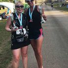 Three Counties Running Club members. Nicole Coughlin and Sarah-Jane Macdonald PHOTO: Submitted