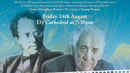 Leonard Bernstein's Concert Film of Mahler's Second Symphony gets a cinematic screening at Ely Cathe