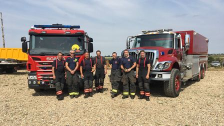 Cambridgeshire Fire and Rescue recently called in help from the United States Air Force when tacklin