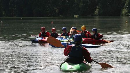 Seven cadets from 1094 Ely Training Corps joined 250 others to take part in the activity camp to cel