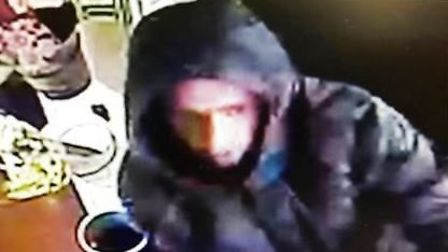 Officers have released a CCTV image of a man they would like to speak to in connection with the brea