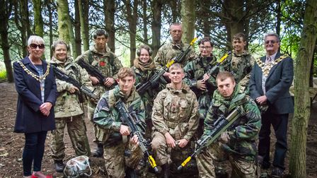 Cadets from across the county have returned from a nine-day experience in Altcar near Liverpool. Pic