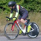 Darran Bennett of Ely Cyclling Club racing on the E2/10 course. PHOTO: Davey Jones