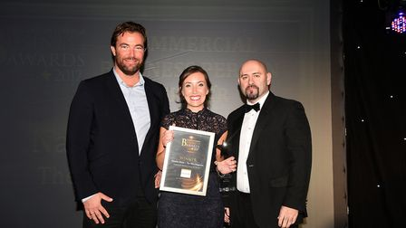 Fenland Business AwardsCommercial Business Person of the Year winner Natasha Shiels The Fens Magazin