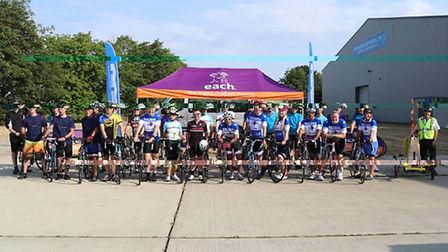 The 200 mile race took three days and participants crossed three counties. Picture: CONTRIBUTED