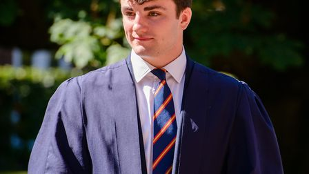Felsted head boy Will Barker, from Little Bardfield will be taking up his place to read Philosophy,