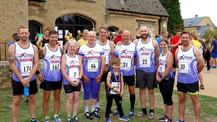 Five Fenland members travelled to Ferry Meadows, Peterborough for the Barney Memorial 5k. Photo: Adr