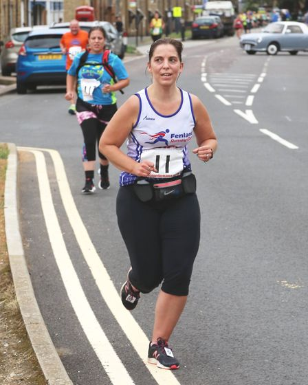Five Fenland members travelled to Ferry Meadows, Peterborough for the Barney Memorial 5k. Lucy Hicks