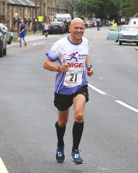 Five Fenland members travelled to Ferry Meadows, Peterborough for the Barney Memorial 5k. Nigel Sear