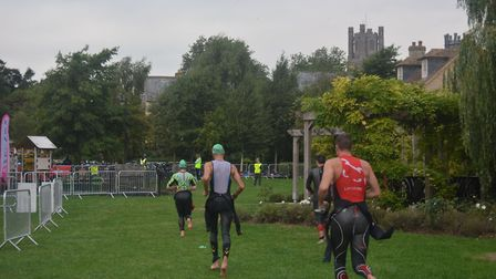 Hundreds of athletes took part in the Ely Monster Races held on Sunday, August 19. Picture: Mike Rou