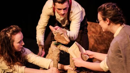 November also brings 'Ingo's War' - a family puppet show about a dog called Ingo, who gets separated