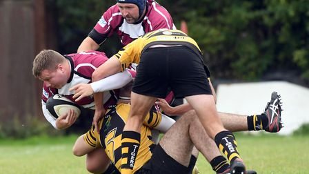 Action from March Bears' victory against Ely 2nds in their opening game of the new season. Picture: