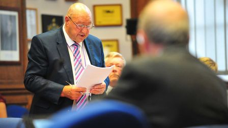 Cllr Peter Murphy, cabinet member, at meeting at Fenland Hall on Thursday, September 13 2018. Pictur