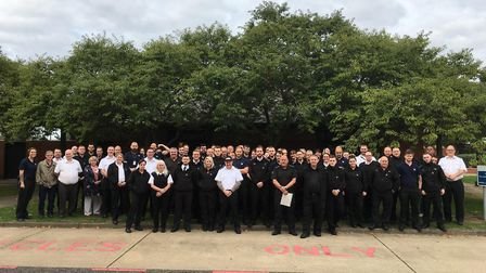 Dozens of prison officers have gone on strike this morning at HMP Whitemoor in March. Picture: HARRY