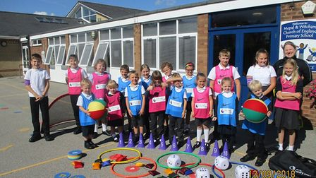 Mepal and Witcham Primary School have been given sports equipment from the Primary Stars scheme.