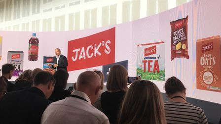 The official launch of Tesco's new discount store Jack's is happening in Chatteris today. The world'