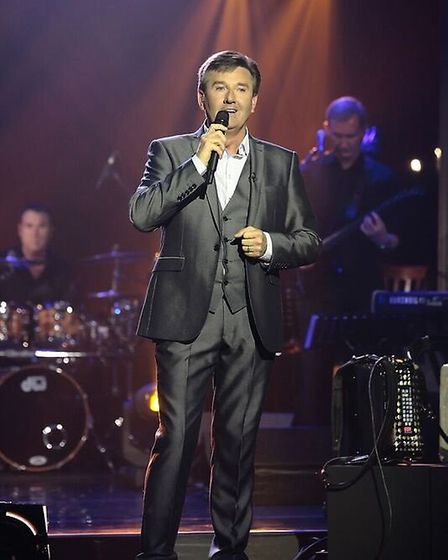 Daniel O'Donnell is at Cambridge Corn Exchange