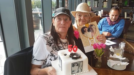Adrian and Jenny celebrated 50 happy years of marriage by renewing their vows at Ely Registration Of