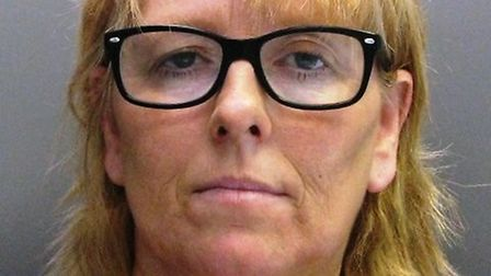 Prison worker Samantha Drinkwater, 49, who smuggled contraband for a convicted murderer she was havi