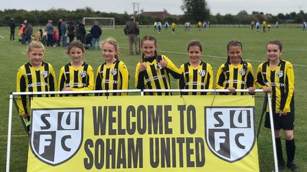 Soham United Youth Football Club's U11s playing their first game against Chesterton at home. Picture