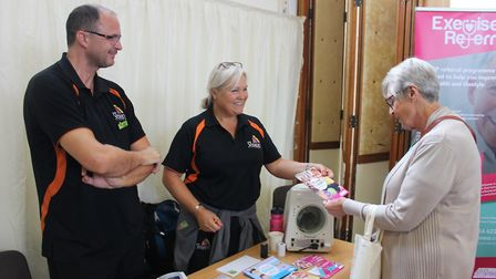 Fenland's Golden Age Fairs continued to go from strength to strength this week as almost 120 people