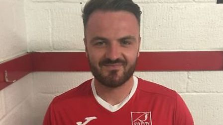 Ely City star Jamie Thurlbourne has been ruled out for the rest of the season. Picture: ELY CITY FC
