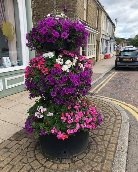 Chatteris in Bloom could be lost if more volunteers are not sought. Here are their displays from thi