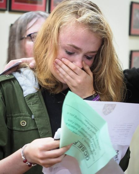 Helena Romanes pupil Lucy Turvey achieved nine Grade 9's. Picture: CELIA BARTLETT PHOTOGRAPHY