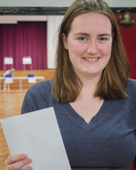 Olivia O'Neill was delighter with her results. Picture: CELIA BARTLETT PHOTOGRAPHY