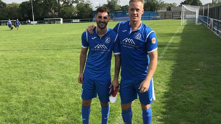 Charlie Cole and Stuart Zanone scored two goals each in Takeley's win over Walthamstow