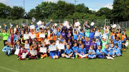The Peterborough Under 7s Mini Soccer Conference league is set to kick off its 20th season in Septem