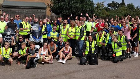 Last year's Phil's Ride saw thousands raised for charity.