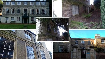 Images from a condition survey by Cambridgeshire County Council on the state of Wisbech Castle.