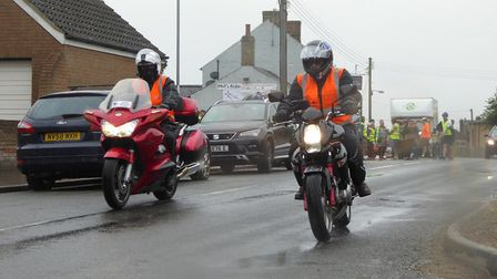 Annual charity motorcycle ride in memory of Ely biker Phil Beeton raises thousands for East Anglian