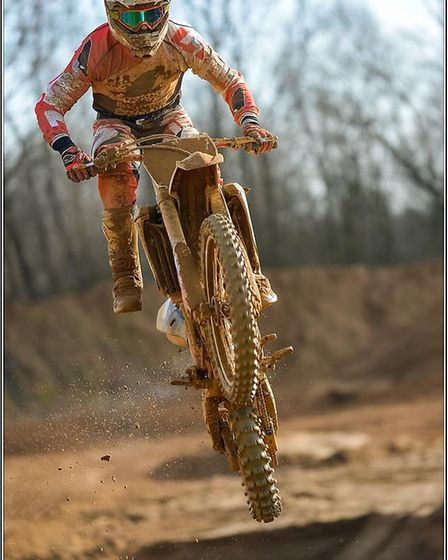 A rider in action at Mepal Motorcross track in 2016. PHOTO: FX15-MX