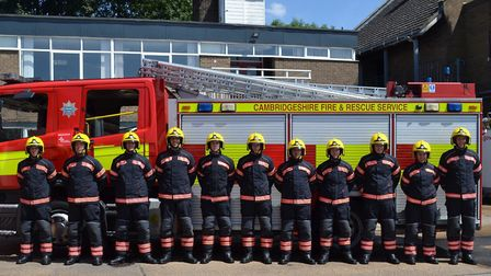 Cambs fire service add 11 new recruits to their numbers