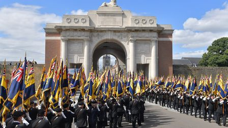 Members of the Chatteris branch of The Royal British Legion joined thousands on a pilgrimage of Reme