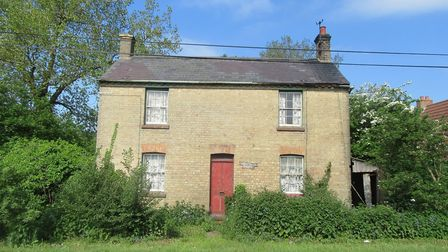 Two-bedroom house in need of renovation available at the Cheffins property auction.
