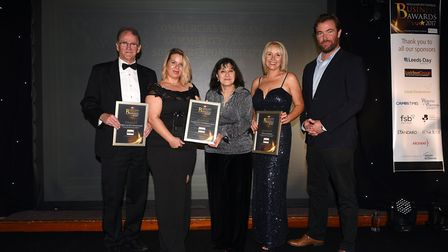 Fenland Business Awards 2017: finalists in the business in the community category.