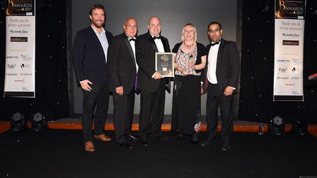 Fenland Business Awards 2017: Winners of the Retailer of The Year Kellyvision KCS Ltd