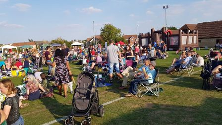 Hundreds attended this year's Sutton Feast Picnic in the Park on Saturday, September 1. Picture: STU
