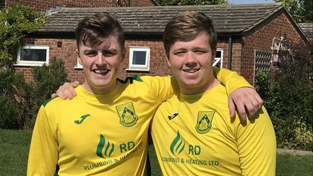 Christian Roles and George Watkins netted for Dunmow Rhodes