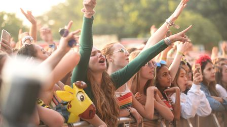 Scenes from the first day of the Sundown Festival. Picture: Ian Burt