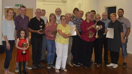 Annual awards at the Ely Allotment Association. PHOTO: Ely Allotment Association