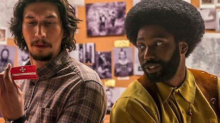 BlacKkKlansman is a must see dark humour social commentary by Spike Lee